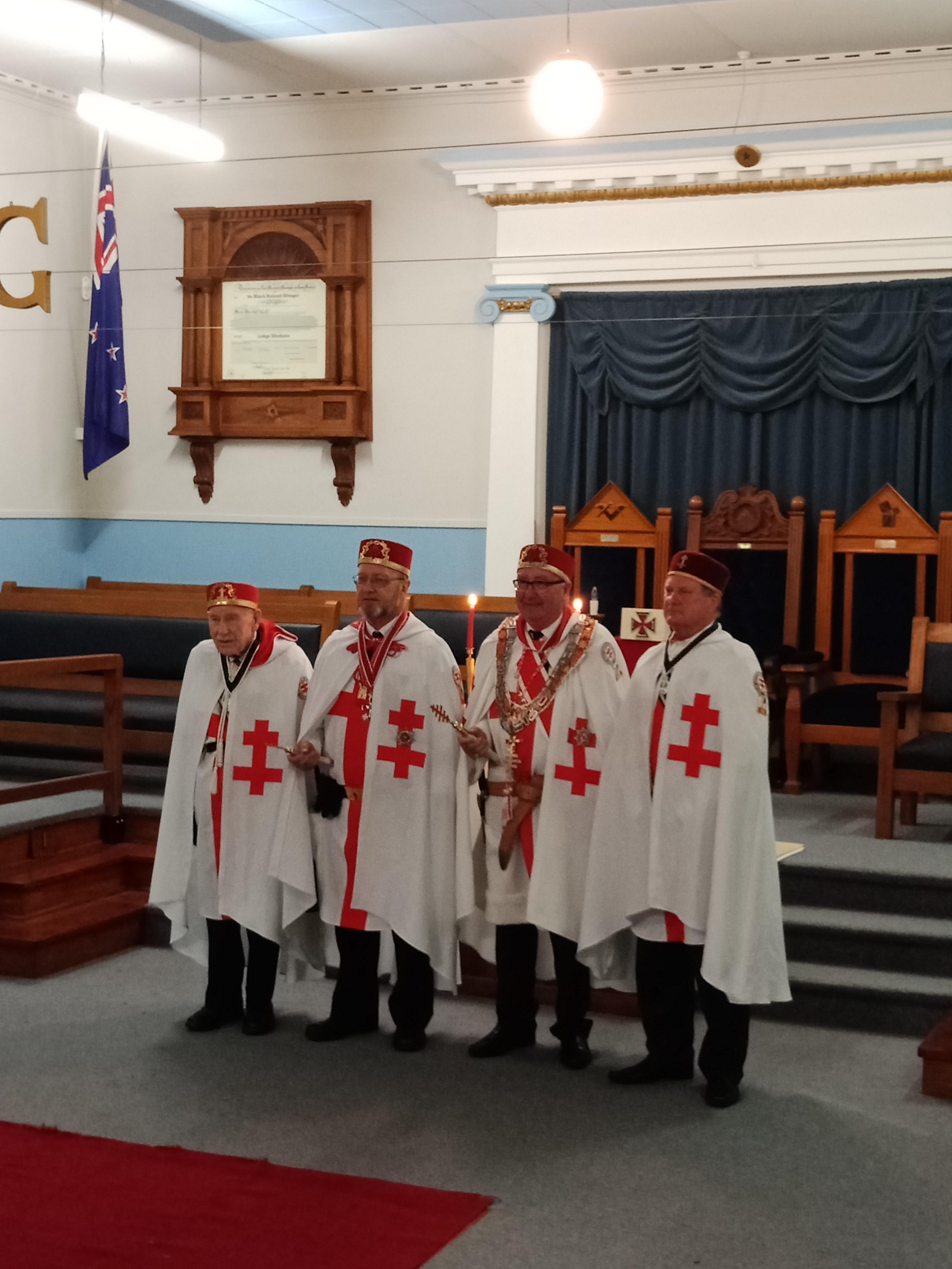 News – Knights Templar NZ